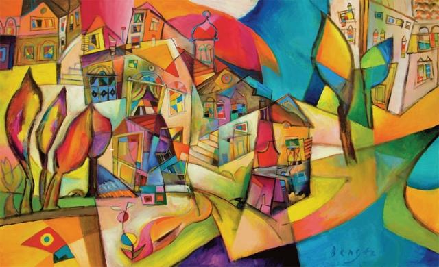 Miljenko Bengez, Peintures