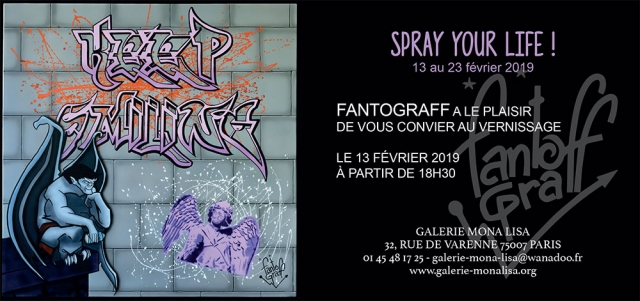 FANTOGRAFF, SPRAY YOUR LIFE !
