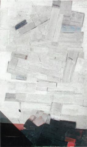 Toits blancs. 1961. 180x112
