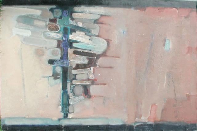Entre deux mondes. 1960. 120x200