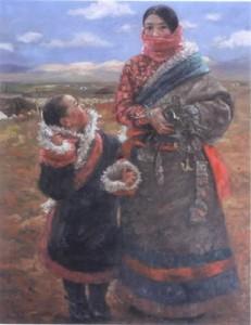 "Zhang Jiang ""Visages du Tibet"""
