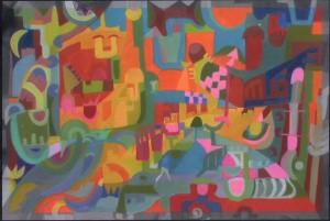 """Pascale M Mercier """"Mah Jong """" 2007"""