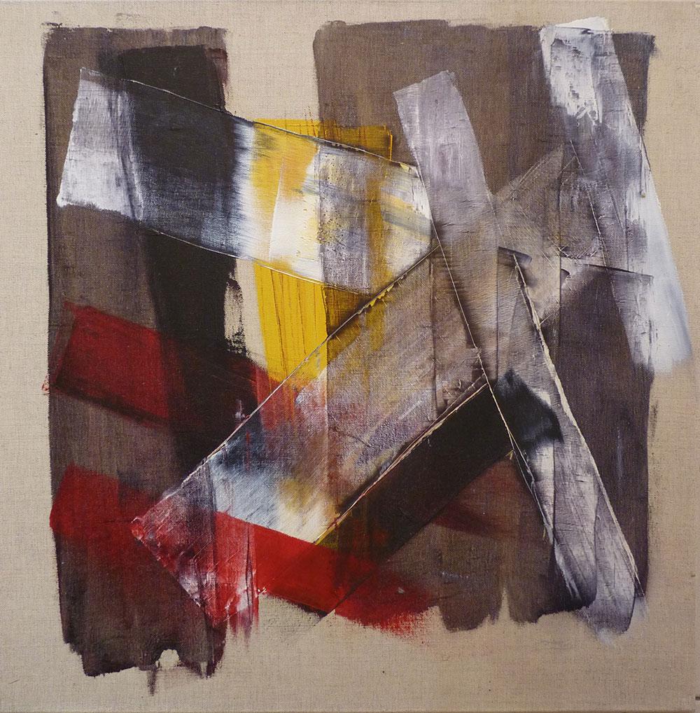 Marie-Odile Aubin, peintures abstraites