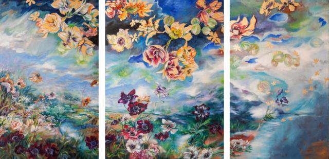 Violaine Vaganay - Dialogue entre Ciel et Terre